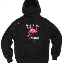 Fa La La Mingo Flamingo Christmas Pullover Hoodie