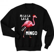 Fa La La Mingo Flamingo Christmas Sweatshirt