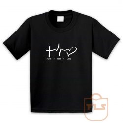 Faith Hope Love Youth T Shirt
