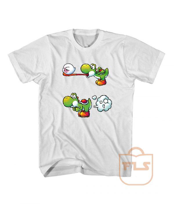 Farting Yoshi Cute T Shirt