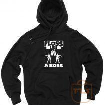Floss Like A Boss dance Fortnite Hoodie