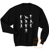 Fortnite Dance Emotes Sweatshirt Men Women
