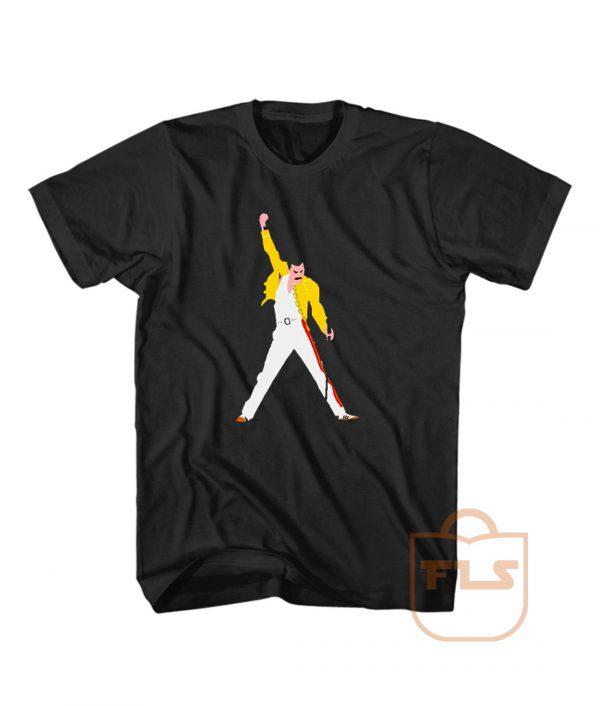 Freddie Mercury Tribute Concert Vector T Shirt Men Women