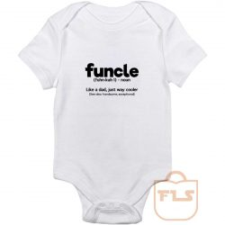 Funcle Definition Baby Onesie