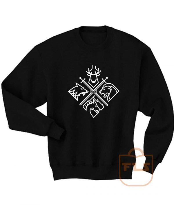 Game of Thrones Houses Sweatshirt