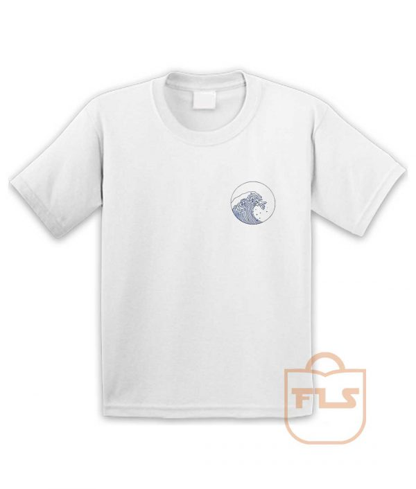 Giant Wave Pocket Youth T Shirt