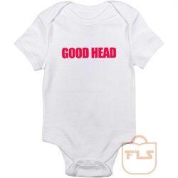 Good Head Baby Onesie