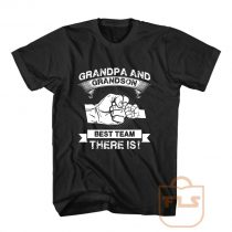 Grandpa Grandson Best Team T Shirt