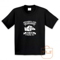 Grandpa Grandson Best Team Youth T Shirt