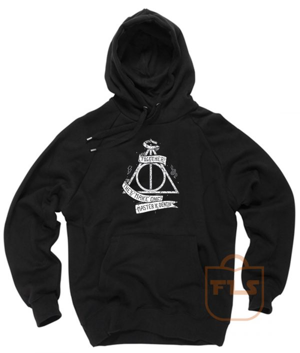 Harry Potter Deathly Hallows Together Pullover Hoodie