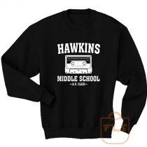 Hawkins Middle School AV Club Sweatshirt Men Women