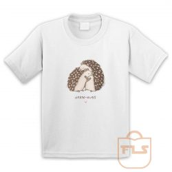 Hedge Hugs Valentine Gift Youth T Shirt