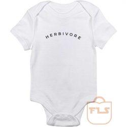 Herbivore Vegeterian Baby Onesie