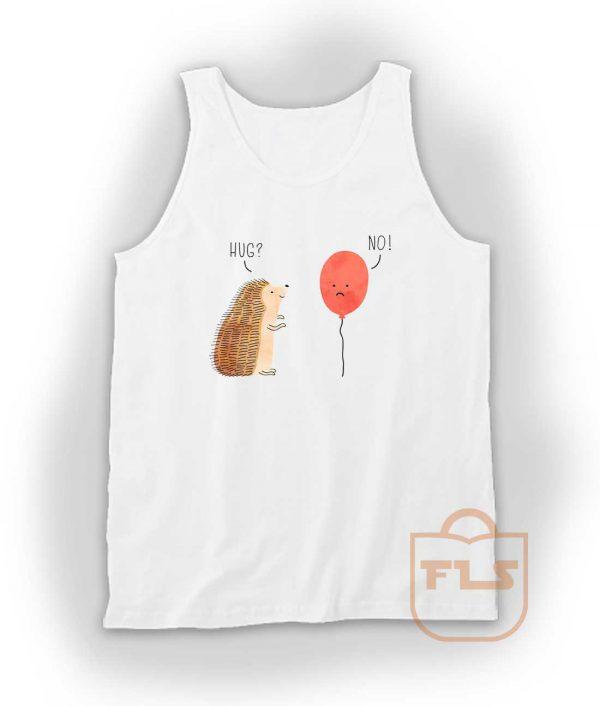 Impossible Love Hedgehog Ballon Tank Top