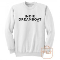 Indie Dreamboat DIY Sweatshirt