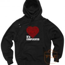 Its Complicated Heart Pullover Hoodie