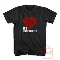 Its Complicated Heart T Shirt
