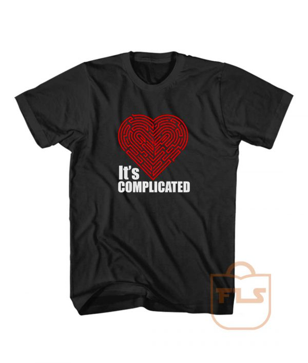 Its Complicated Heart T Shirt