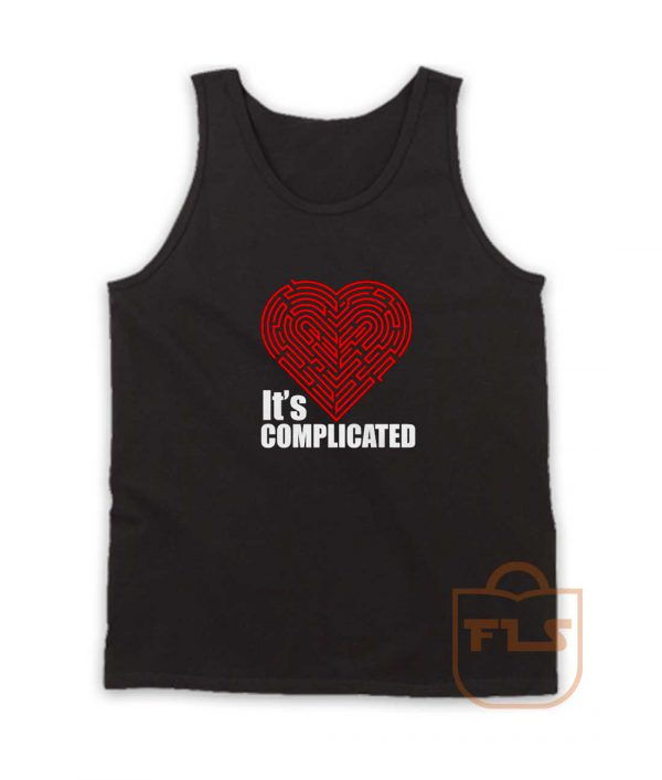 Its Complicated Heart Tank Top
