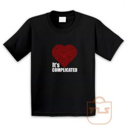 Its Complicated Heart Youth T Shirt