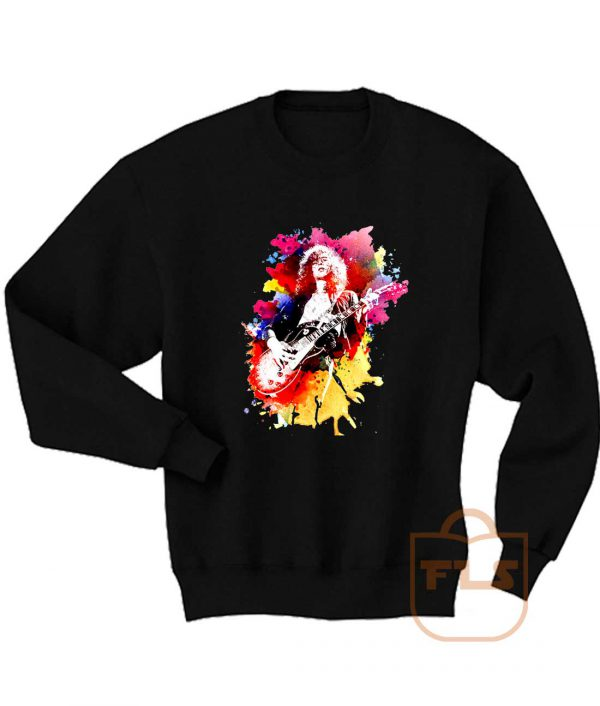 Jimmy Page Watercolors Sweatshirt