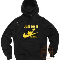 Just Do it Later Pikachu Pokemon Hoodie
