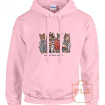 Kennedy Space Center Cat Parody Hoodie
