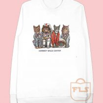 Kennedy Space Center Cat Parody Sweatshirt