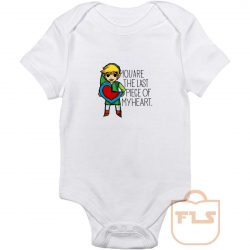 Legend Of Zelda The Last Piece Baby Onesie