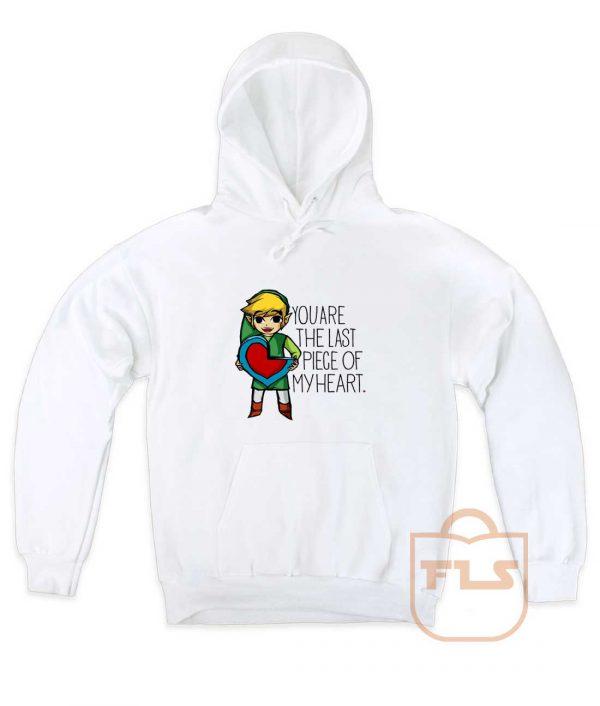Legend Of Zelda The Last Piece Pullover Hoodie