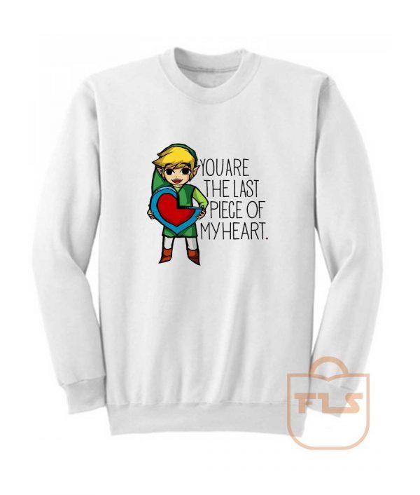 Legend Of Zelda The Last Piece Sweatshirt
