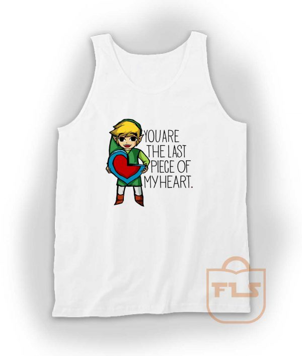 Legend Of Zelda The Last Piece Tank Top