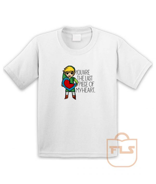 Legend Of Zelda The Last Piece Youth T Shirt
