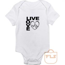 Live Love Baby Onesie