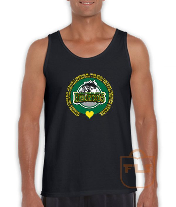 Loving Memory Humboldt Broncos Tank Top