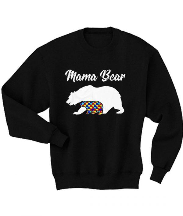 Mama Bear Autism GIft Sweatshirt