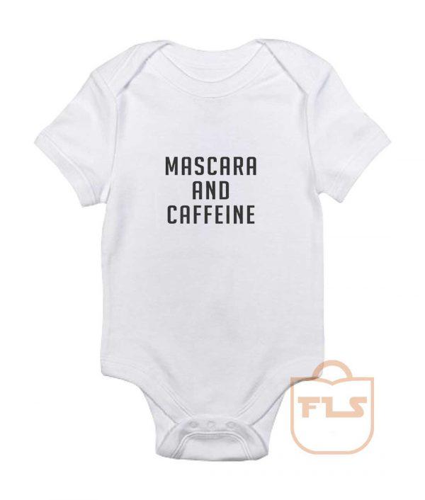 Mascara and Caffeine Baby Onesie