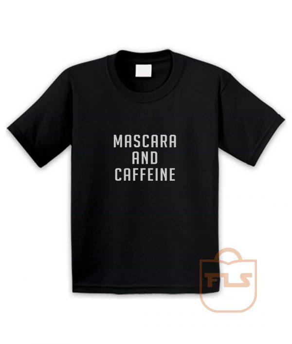 Mascara and Caffeine Youth T Shirt