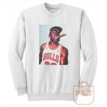 Michael Jordan Cigar Vintage Sweatshirt