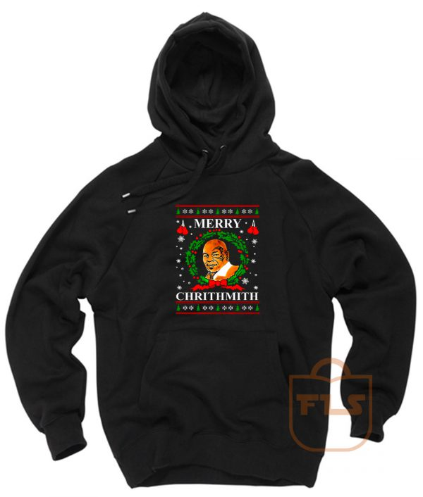 Mike Tyson Merry Chrithmith Ugly Christmas Hoodie