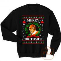 Mike Tyson Merry Chrithmith Ugly Christmas Sweatshirt Men Women