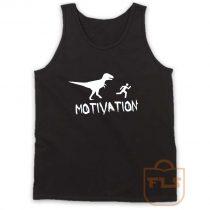 Motivation Dinosaur Parody Tank Top