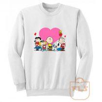 Peanuts Valentine Day Edition Sweatshirt