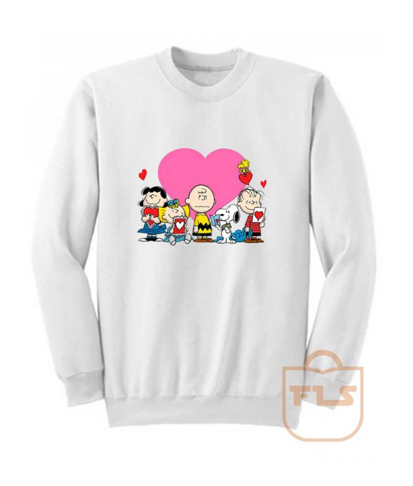 Peanuts Valentine Day Edition Sweatshirt