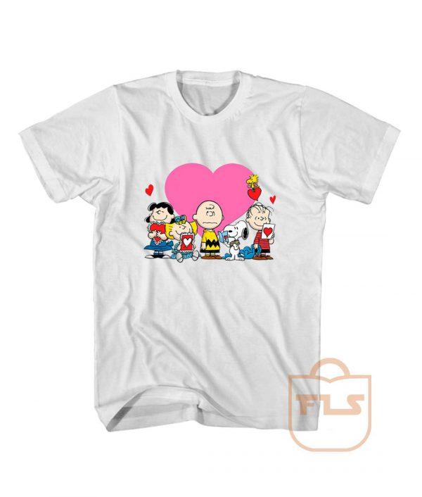 Peanuts Valentine Day Edition T Shirt