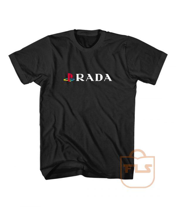 Playstation PS Prada Parody T Shirt