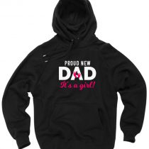 Proud New DAD Pullover Hoodie