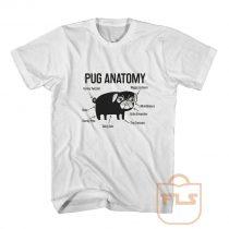 Pug Anatomy T Shirt