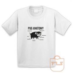 Pug Anatomy Youth T Shirt