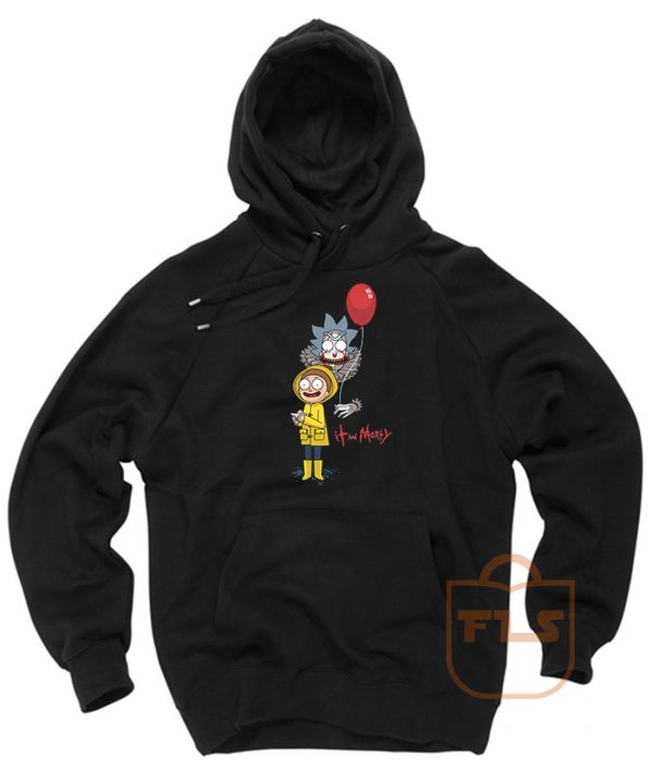 Rick and Morty Clown Hoodie